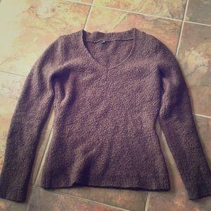 Moda International Small chocolate brown sweater